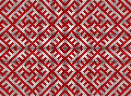 Wzór na tkaninie