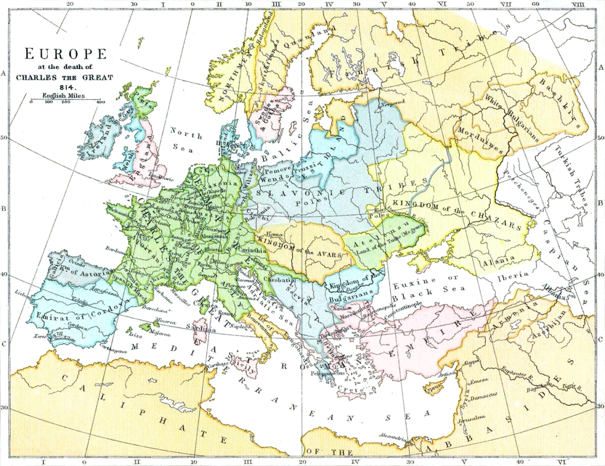 Europe_814.jpgSlavic_expansion_invasion_Europe_Great_Migrations_German_Barbarian_Rome_Saxons_Obotrites_Limes_Saxoniae