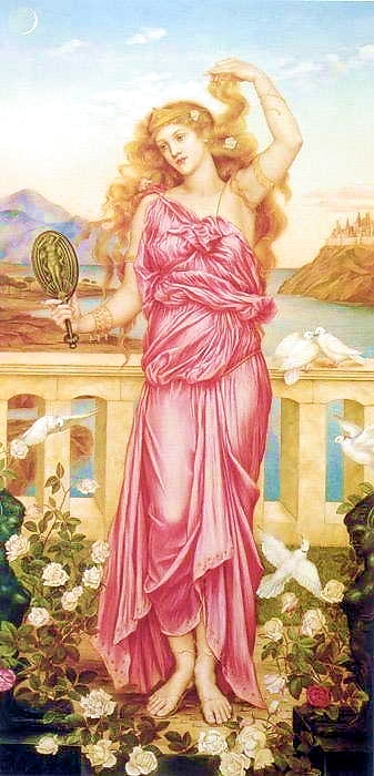 Evelyn De Morgan Helen of Troy