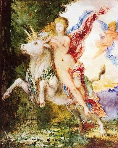 Gustave Moreau – Porwanie