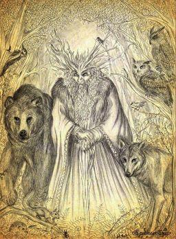 Bóg Borowił-Lesze-Leszy