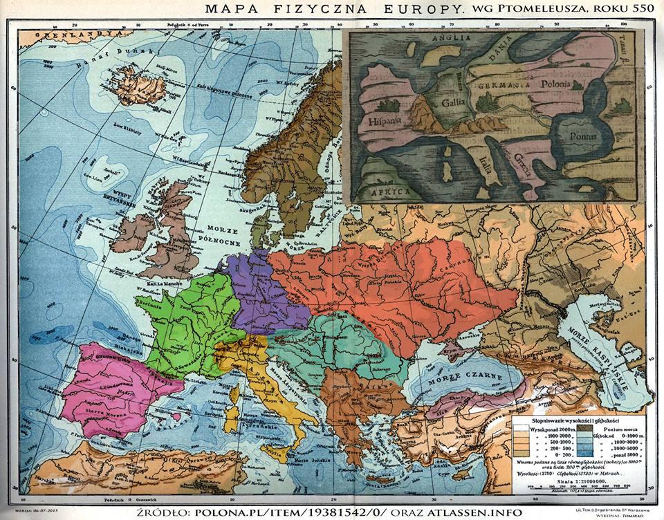 Slavs 550 A.D.