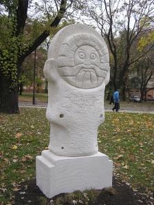 Posąg Jaryły w Doniecku