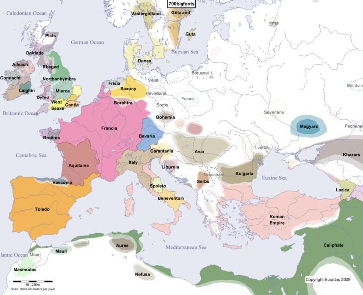 Słowianie700 rok AD