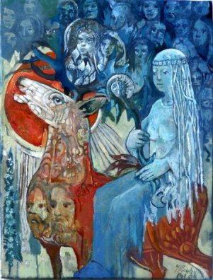 Dziewanna-Dziwa – Na Jeleniu z Duszami w Zaświaty