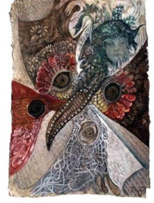 Dziewanna w postaci Dziwego Motyla pazia królowej – Rusałki