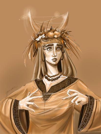 mokosza z mitologii białczyńskiego