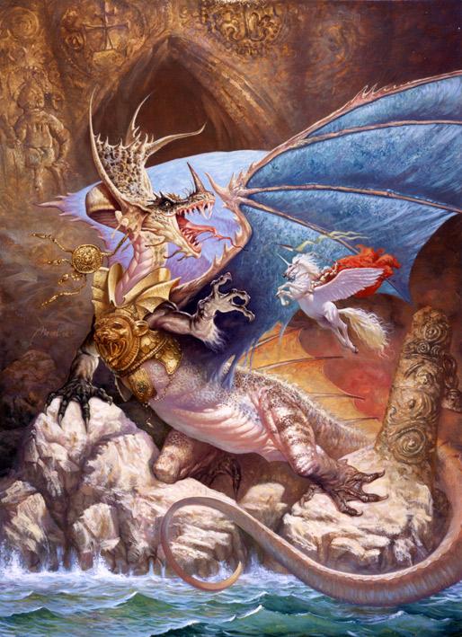serb-art-petar-meseldzija-the-noble-dragon