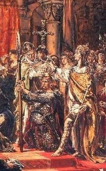 Koronacja Chrobrego - Włócznia Świętego Maurycego