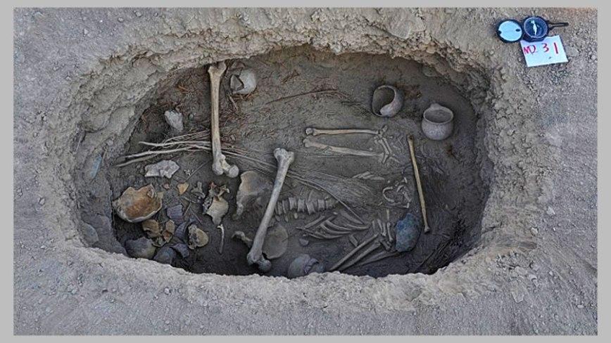 Groby Scytyjskie Słowiańskie w Chinach