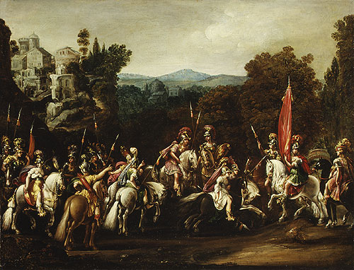 Deruet-Departure_of_the_Amazons-1620