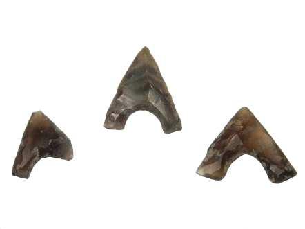 Krzemienne groty strzał odkryte w Supraślu