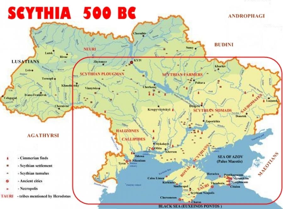 Scytia 500 BC