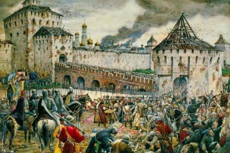okupacja Moskwy