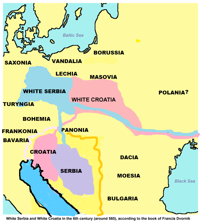Serbia około 560 bc